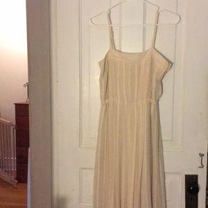 Ivory Forever 21 long dress
